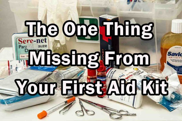 The One Thing Missing From Your First Aid Kit
