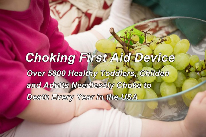 Anti Choking First Aid Device - Toddlers