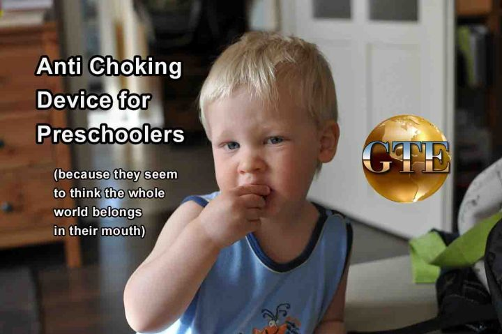 Anti Choking Device - Preschoolers