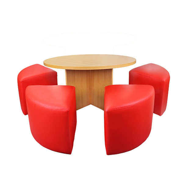table ottoman sets 5 piece set activity educational furniture ideas