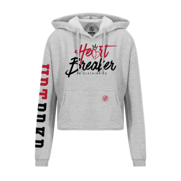 Heart Breaker Crop Hoodie