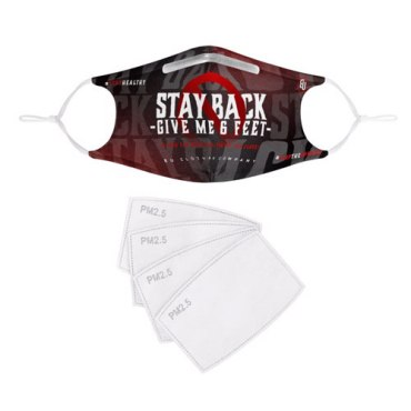 Stay Back Reusable Face Mask