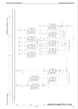 Volvo Trucks FE Wiring Diagram Service Manuals PDF