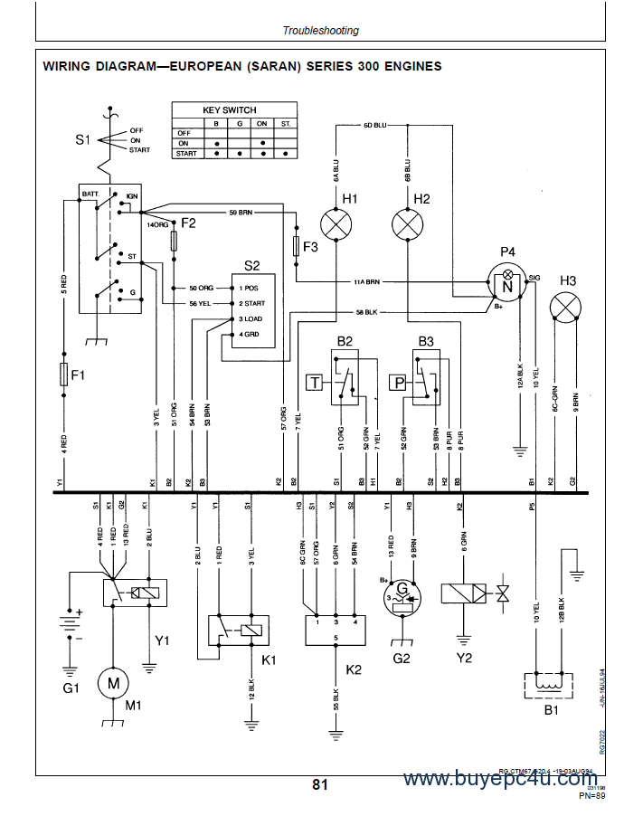 john deere series 300 3029403940456059 6068 oem diesel engine operators?resize\=665%2C844\&ssl\=1 gx1438a jd sabre wiring diagram wiring diagram images john deere sabre 1438 wiring diagram at alyssarenee.co