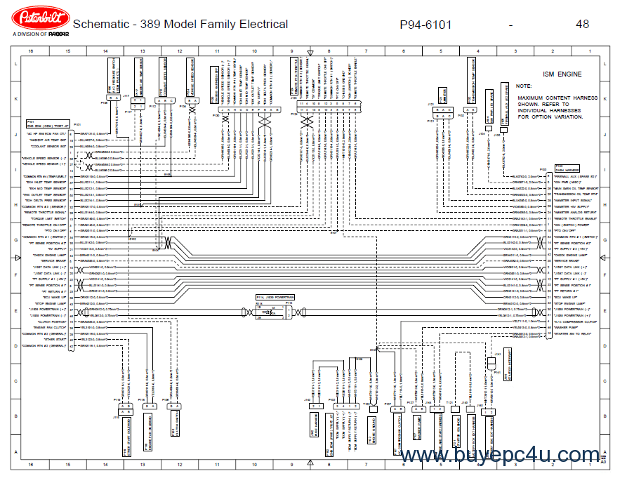 peterbilt truck 389 model family electrical schematic manual pdf peterbilt 357 wiring schematic diagram wiring diagrams for diy 2004 peterbilt 379 wiring diagram at readyjetset.co