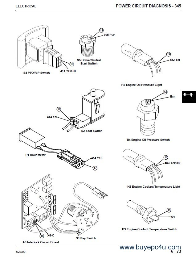 John Deere 5105 Wiring Diagram: John Deere 6410 Wiring Diagram At Johnprice.co