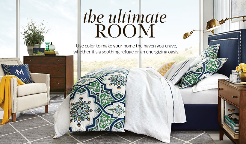 Ashton Bedding: The Ultimate Room