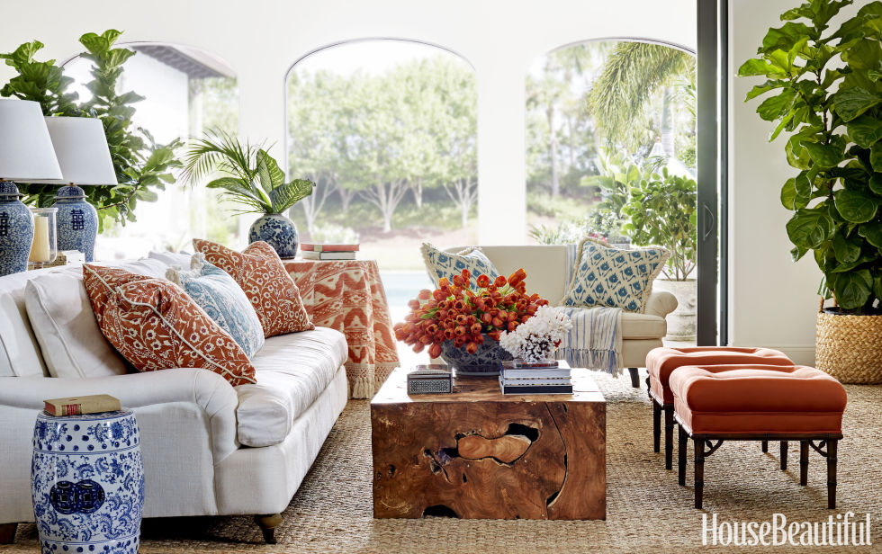 Summer decorating ideas buyer select decor for House beautiful living rooms photos