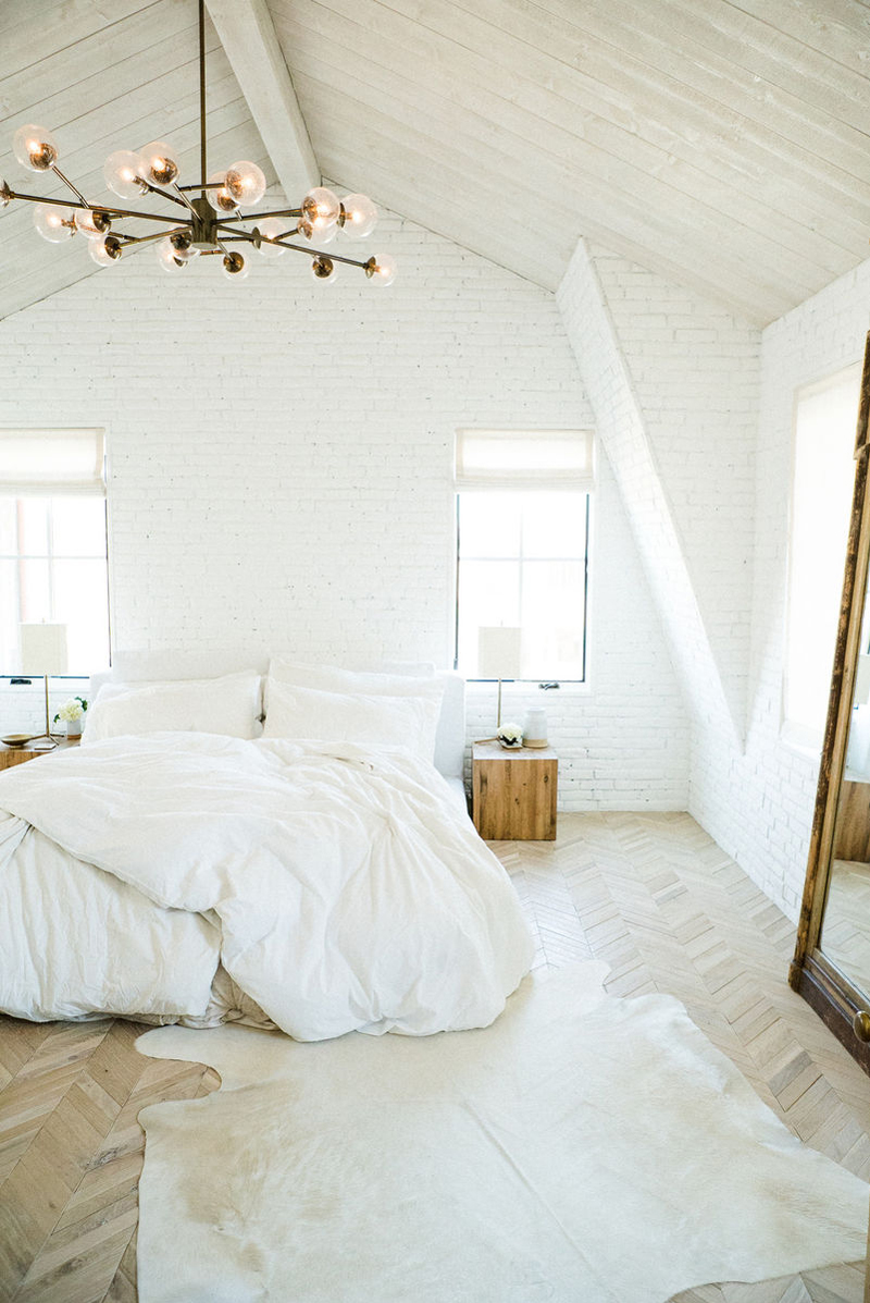 Scandinavian Design Master Bedroom