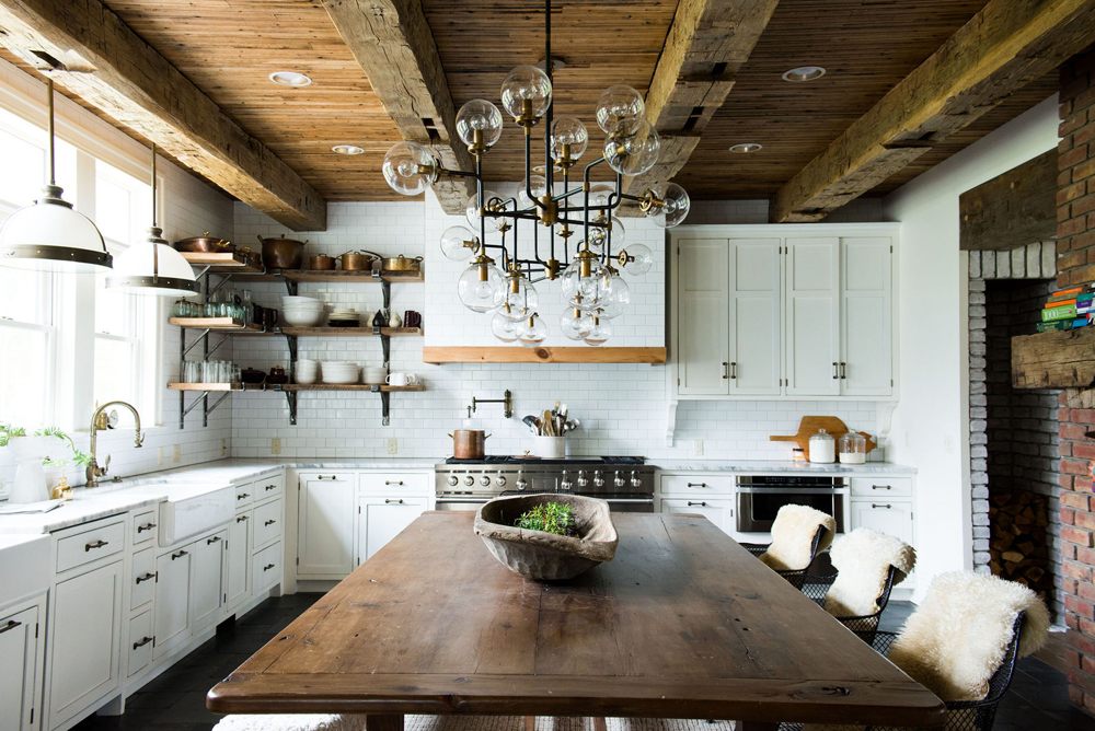 Scandinavian Rustic Kitchen