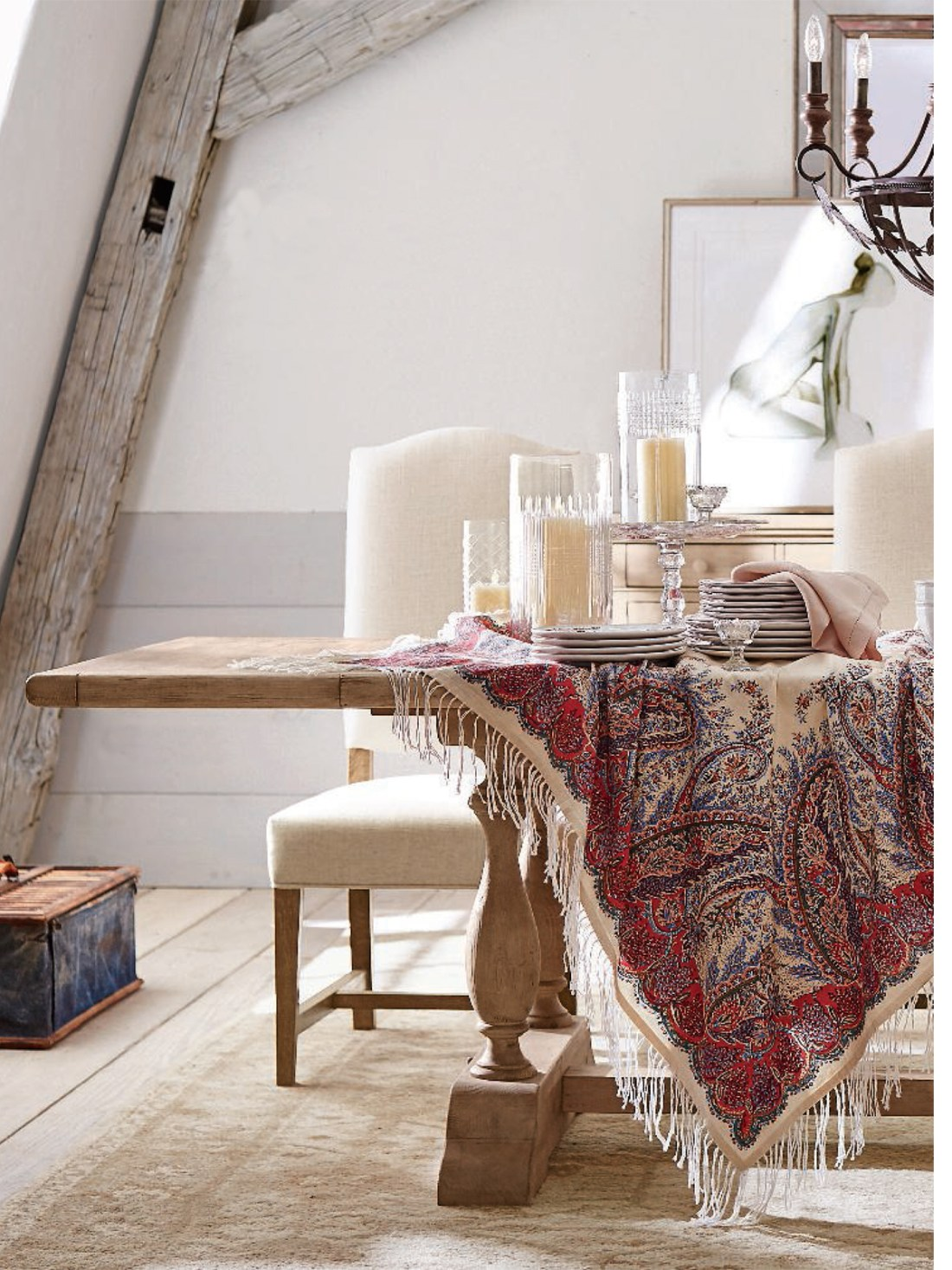 Vintage Decorating Ideas Pottery Barn Fall Collection