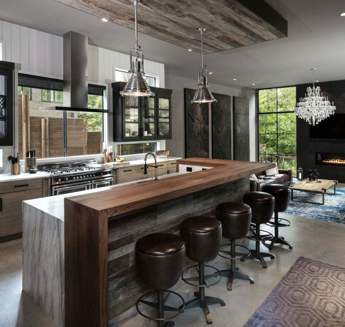 Urban Kitchen Design: Kitchen Design Inspiration