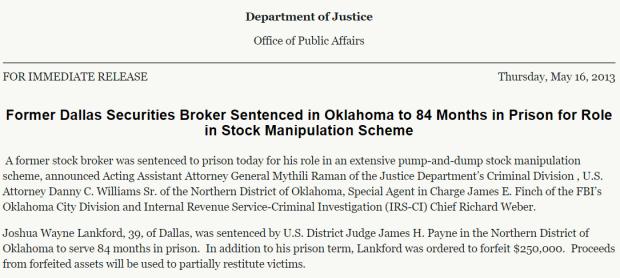 Lankford-Sentence