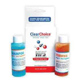 Image of a product - Clear Choice 8 hour hair folicle detox shampoo