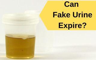Can fake urine expire