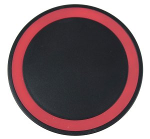 Red Wireless Charging Disc