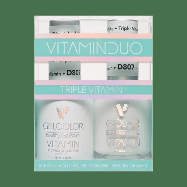 Triple Vitamin White V807 Duo Box