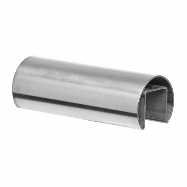 Stainless Steel Split Tube 42.4mm Diameter x 6m Long s/s 316