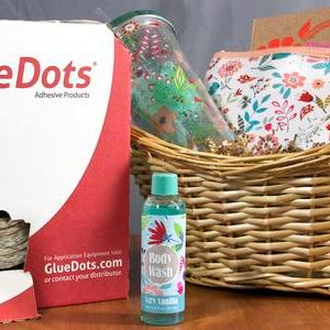 Candle & Gift Basket assembly