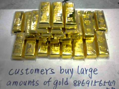 Buy gold bars Houston