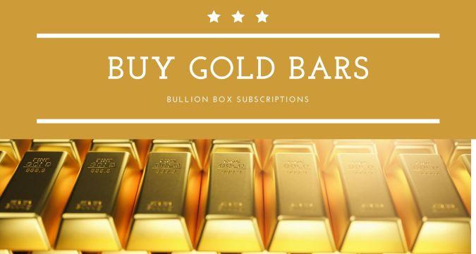 Buy gold bars
