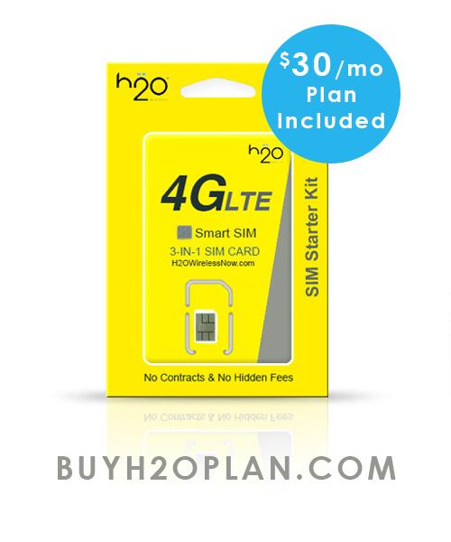 H2o Wireless Prepaid Plan