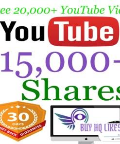 Buy 15000 YouTube Shares