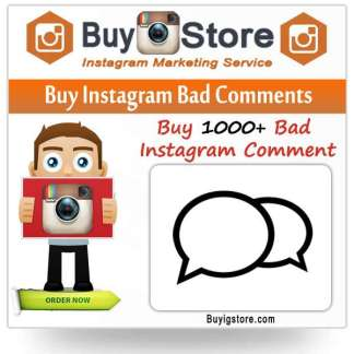 Buy Instagram Bad Comments