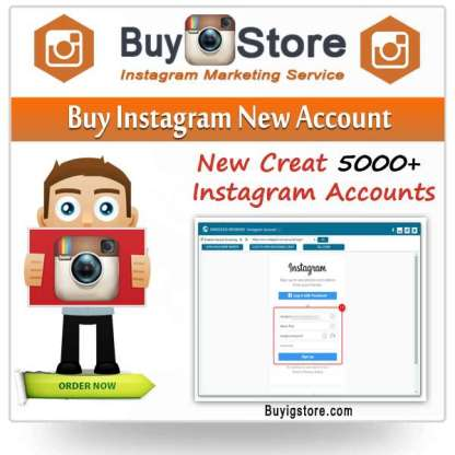 Buy Instagram New Accounts
