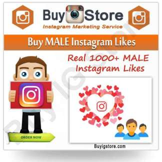 Buy MALE Instagram Likes