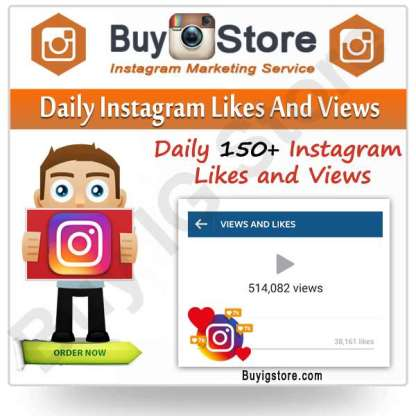 Daily Instagram Likes And Views