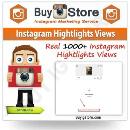 Instagram Hightlights Views