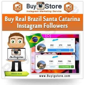 Buy Brazil Santa Catarina Instagram Followers