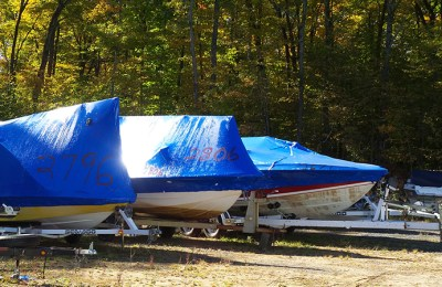 Shrink Wrap Boat Storage….Dangers and Long Term Effects