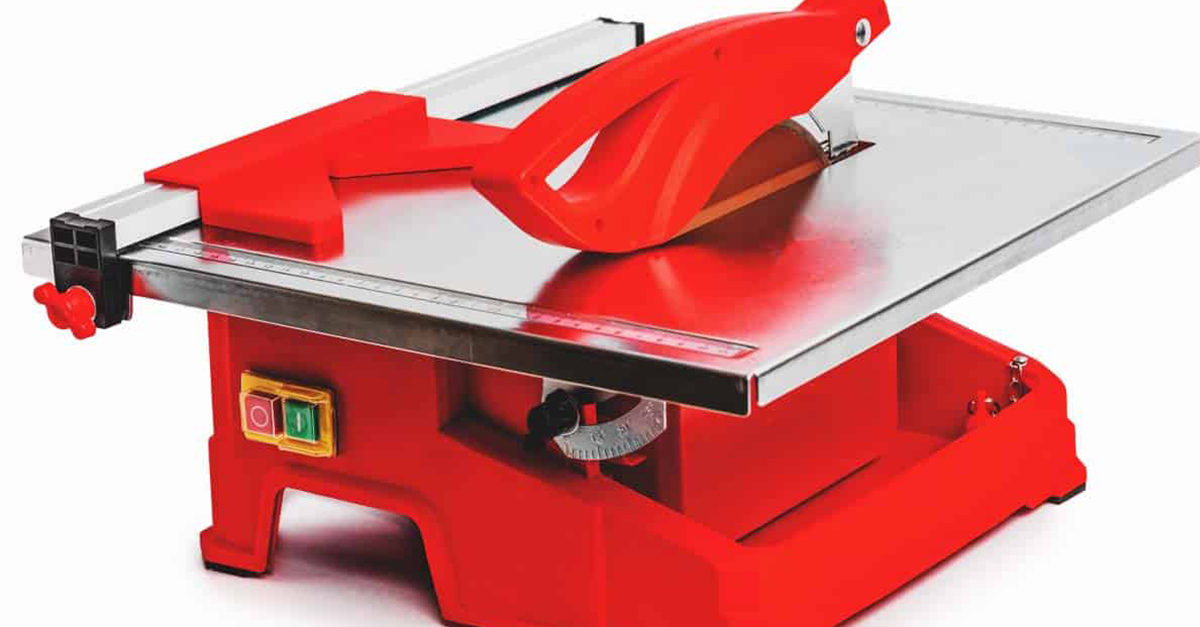 buy the best tile saw for your workshop