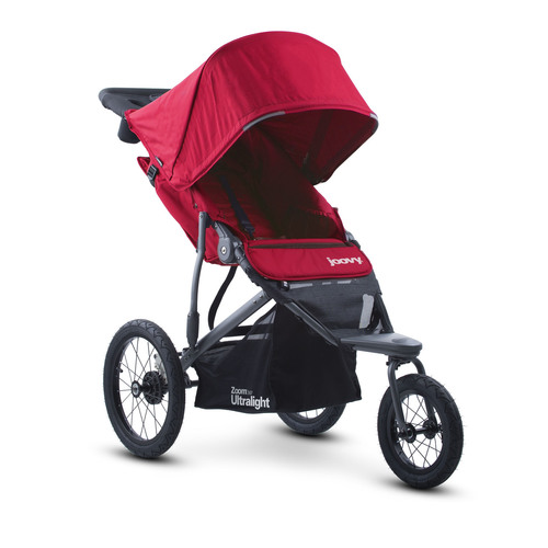 Joovy Zoom 360 Ultralight Jogging Stroller, Red - Jogging Strollers