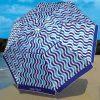 Nautica 7 Foot Beach Umbrella – Blue