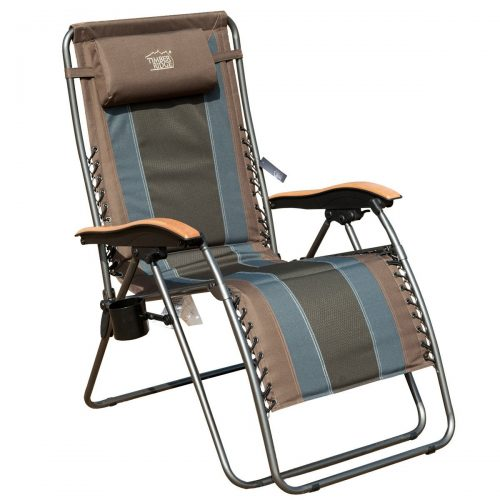 TimberRidge Oversized XL Padded Zero Gravity Chair- best bungee chiar