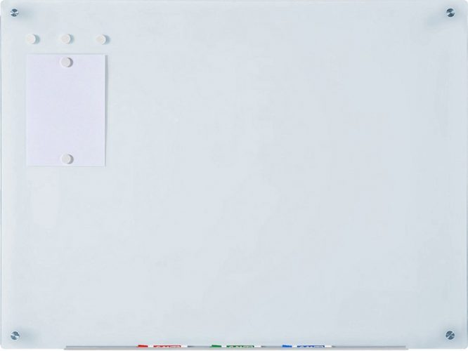 Magnetic Glass Dry-Erase Board Set - office boards