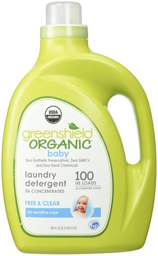 The GreenShield Organic Baby Laundry Detergent - baby detergents