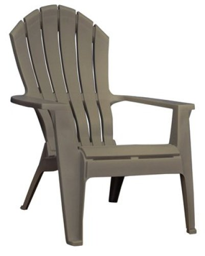 Adams Mfg 8371-96- 3700 Portob Adirondack Chair - Quantity 1 - Plastic Chairs
