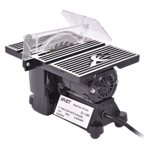 """Goplus 4"""" Mini Electric Table Saw Tablesaw 8500 RPM Hobby and Craft Power Tools - Mini Table Saws"""
