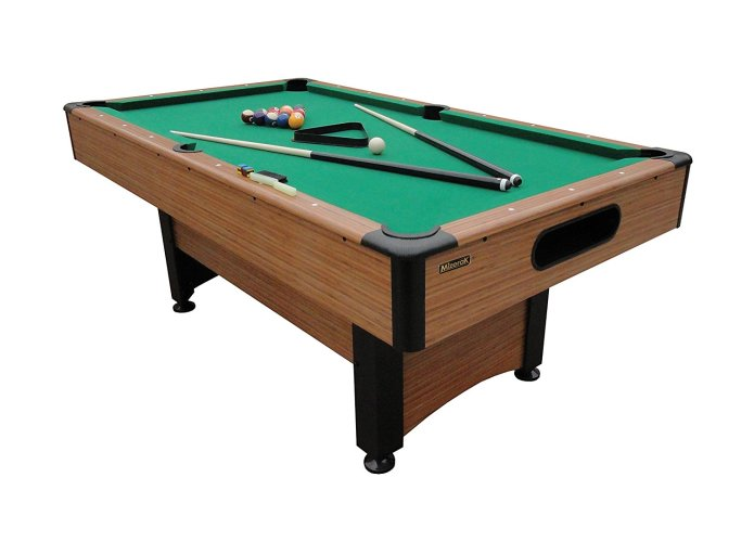 Mizerak Dynasty Space Saver 6.5' Billiard Table - Outdoor Pool Table