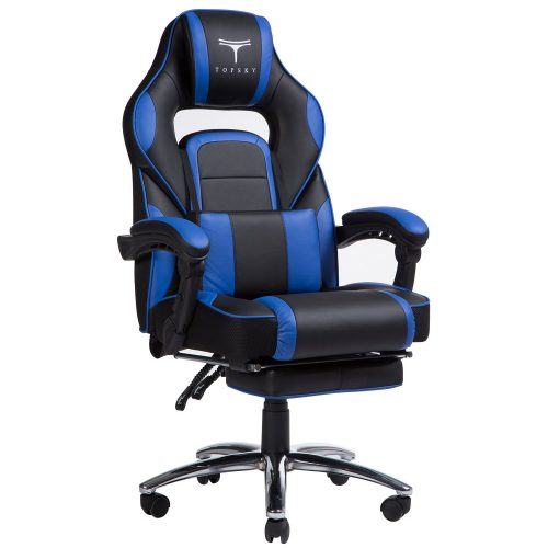 TOPSKY High Back Racing Style PU Leather Computer Gaming Office Chair