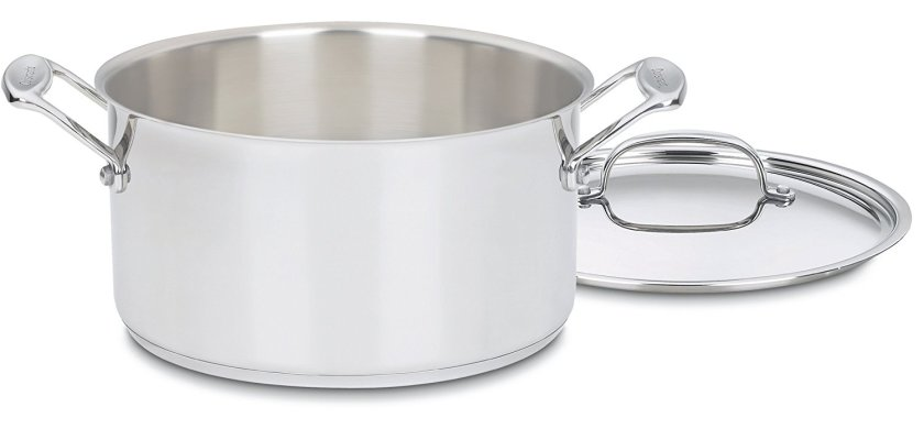 Cuisinart Chef's Classic Stainless Stockpot with Cover, 6-Quart - Stainless Steel Pot