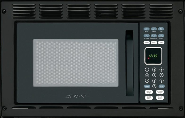 Advent MW912BWDK Black Built-in Microwave Oven - Over the Range Microwaves