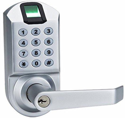 Ardwolf A1 No Drills Needed Keyless Keypad Biometric Fingerprint Door Lock - Keypad Door Locks