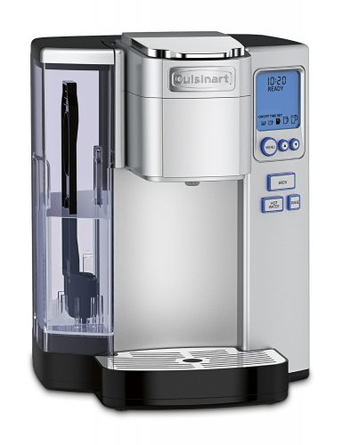 Cuisinart SS-10 Premium Single-Serve Coffeemaker, Stainless Steel - Single Cup Maker