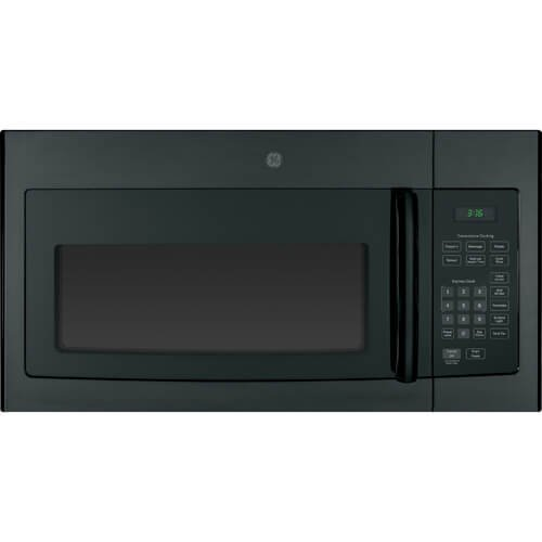 "GE JVM3160DFBB 30"" Over-the-Range Microwave Oven with 1.6 cu. ft. Capacity in Black - Over the Range Microwaves"