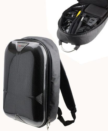 Navitech Hard Shell Action Camera Case - GoPro Backpacks